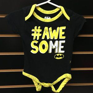 "💲2/$6💲Batman ""Awesome"" 1-pc Infant Bodysuit"